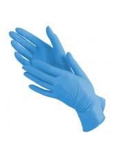 Перчатки нитриловые голубые NitriMax, XS 50 пар.